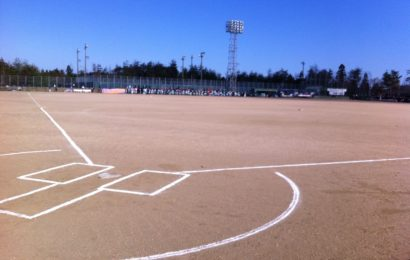 新しい少年野球チームに入団しました